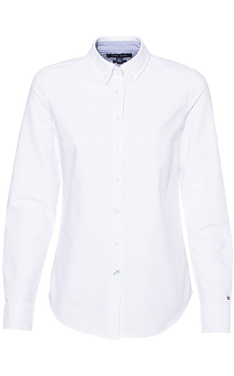 Tommy Hilfiger - Women's New England Solid Oxford Shirt