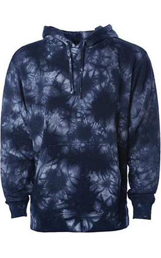 Independent Trading Co Midweight Tie-Dye Hooded Sweatshirt