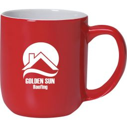 17 Oz. Majestic Mugs Red/White
