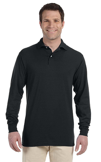 JERZEES - SpotShield 50/50 Long Sleeve Sport Shirt