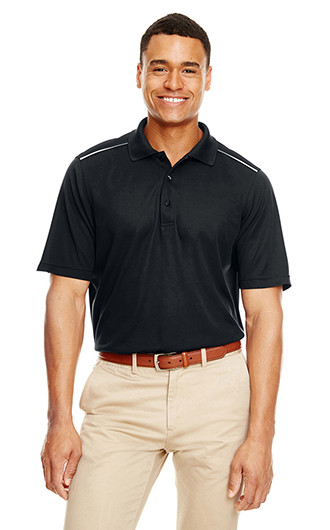 Core 365 Men's Radiant Performance Pique Polo with Reflecti