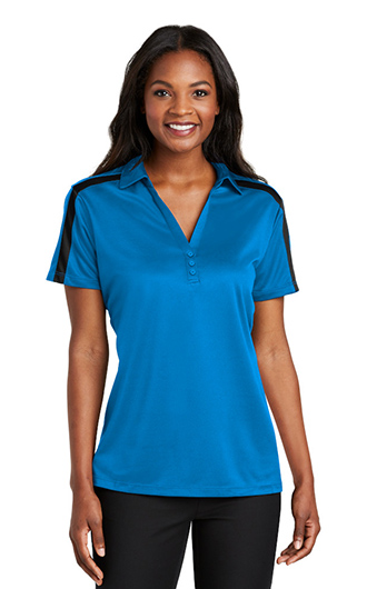 Port Authority Women's Silk Touch Performance Colorblock Str