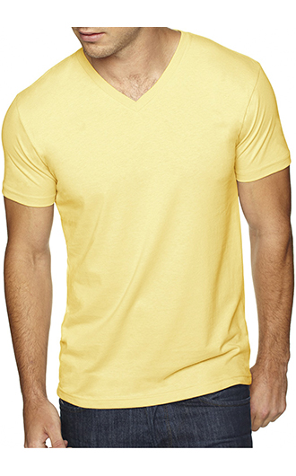 Next Level Men's Sueded V-Neck T-Shirt