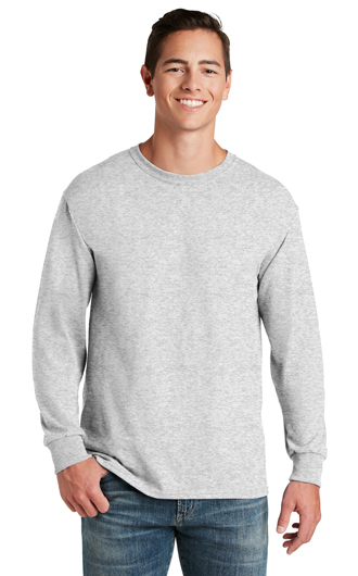 JERZEES�- Dri-Power�50/50 Cotton/Poly Long Sleeve T-Sh