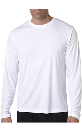 Hanes Adult Cool DRI with FreshIQ Long-Sleeve Performance T-Shir