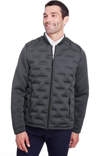 North End Men's Loft Pioneer Hybrid Bomber Jacket