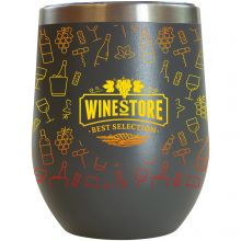12 oz. Sipper Wine Tumbler Full Color