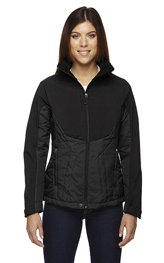 Innovate Women's Hybrid Insulated Soft Shell Jackets RI