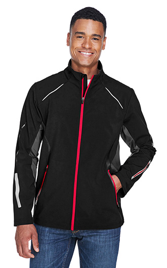 Pursuit Men's 3-Layer Lights Bonded Hybrid Soft Shell Jackets RI