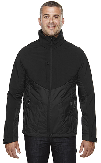North End Men's Innovate Insulated Hybrid Soft Shell Jacket RI