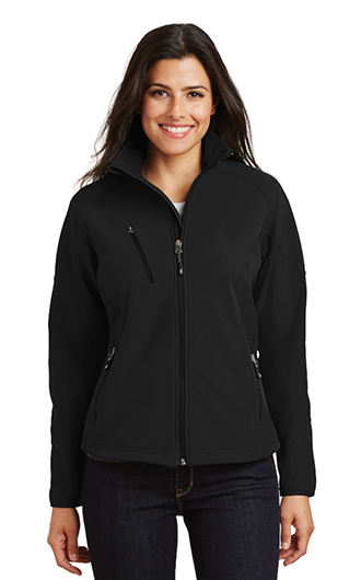 Port Authority Ladies Textured Soft Shell Jackets RI