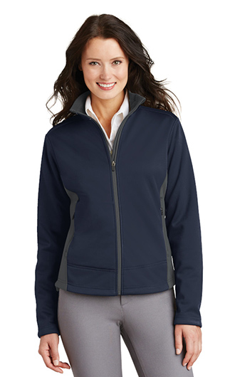 Port Authority Ladies Two-Tone Soft Shell Jacket RI