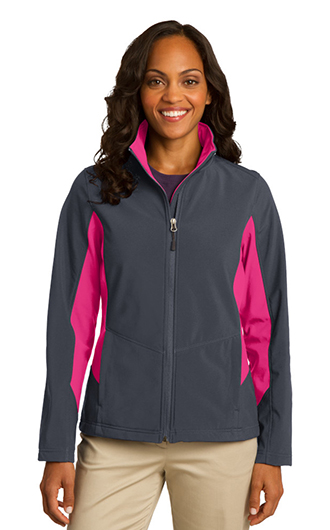 Port Authority Women's Core Colorblock Soft Shell Jacket RI