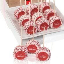 Logo Truffle Cake Pops- Individually Wrapped