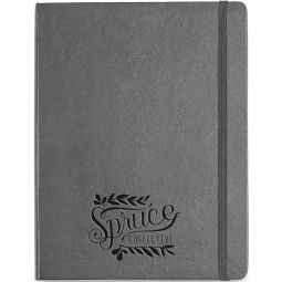 Moleskine Hard Cover Ruled X-Large Notebook - Deboss