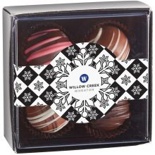 4 Piece Decadent Truffle Box