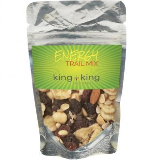 Healthy Resealable Clear Pouches (Energy Trail Mix)