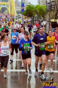 Running Pittsburgh Marathon