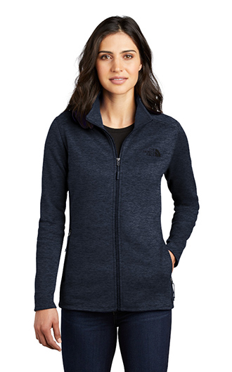 A woman wearing a jacket that's great for custom business clothes