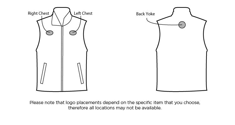 printed vests eddie bauer fleece vest rushimprint com